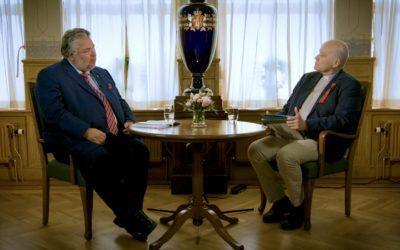 Hovedstaden samtaler med Morten Wold, Stortingets andre visepresident, om Syttende Mai