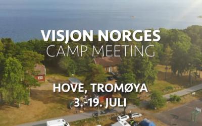 Dette skjer 26. juni-5. juli på TV Visjon Norge: