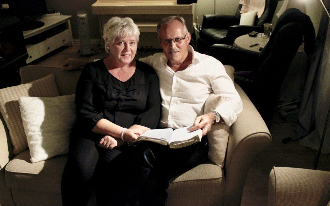 Fra Valdres med buss, for å delta på møtene TV Visjon Norge