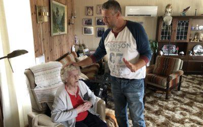 Plutselig var Lindset på døra – og gleden var stor