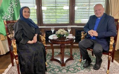 Saudi-Arabias Ambassadør til Norge gjester «Hovedstaden»