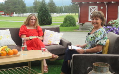 Konferanser og sommeridyll på TV Visjon Norge i juli