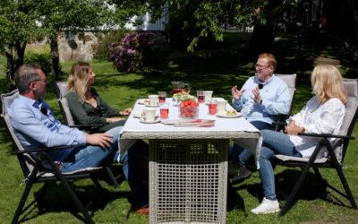 IKAJ – konferanse fra en idyllisk hage på Nøtterøy