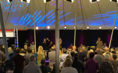 Snart slutt på Camp Meeting: Den hellige ånd i sentrum